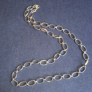 Jewelry - Silver heavy link chain necklace.